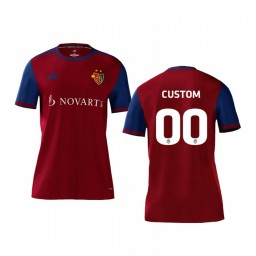 Youth 2019/20 Basel Custom Red Home Short Sleeve Authentic Jersey