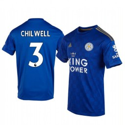 2019/20 Ben Chilwell Leicester City Home Short Sleeve Authentic Jersey