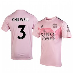 2019/20 Ben Chilwell Leicester City Away Short Sleeve Authentic Jersey