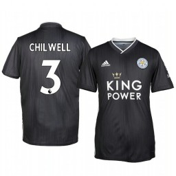 2019/20 Ben Chilwell Leicester City Third Short Sleeve Authentic Jersey