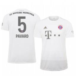 2019/20 Bayern Munich Benjamin Pavard White Away Authentic Jersey