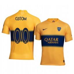 2019/20 Boca Juniors Custom Away Authentic Short Sleeve Authentic Jersey