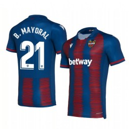 2019/20 Borja Mayoral Levante Home Replica Jersey