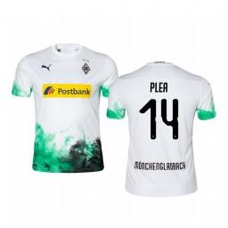 Youth 2019/20 Borussia Monchengladbach Alassane Pléa White Home Short Sleeve Authentic Jersey
