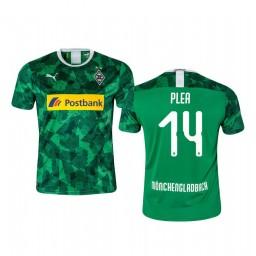 Youth 2019/20 Borussia Monchengladbach Alassane Pléa Green Third Short Sleeve Authentic Jersey