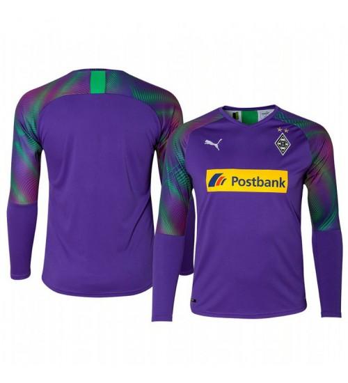 2019/20 Borussia Monchengladbach Goalkeeper Authentic Long Sleeve Authentic Jersey