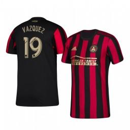 2019/20 Brandon Vazquez Atlanta United Home Authentic Replica Jersey