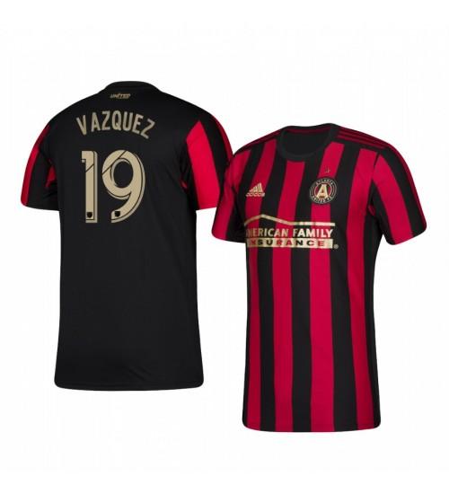 2019/20 Brandon Vazquez Atlanta United Home Primary Authentic Jersey
