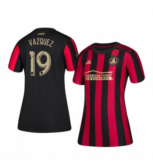 Women's 2019/20 Brandon Vazquez Atlanta United Home Authentic Jersey