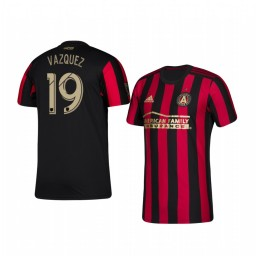 Youth 2019/20 Brandon Vazquez Atlanta United Home Authentic Jersey