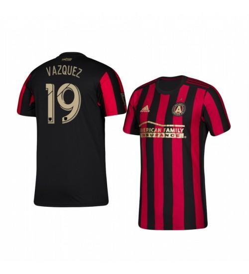 Youth 2019/20 Brandon Vazquez Atlanta United Home Authentic Jersey