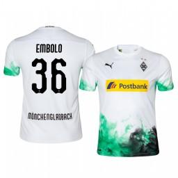2019/20 Borussia Monchengladbach Breel Embolo Home Authentic Jersey