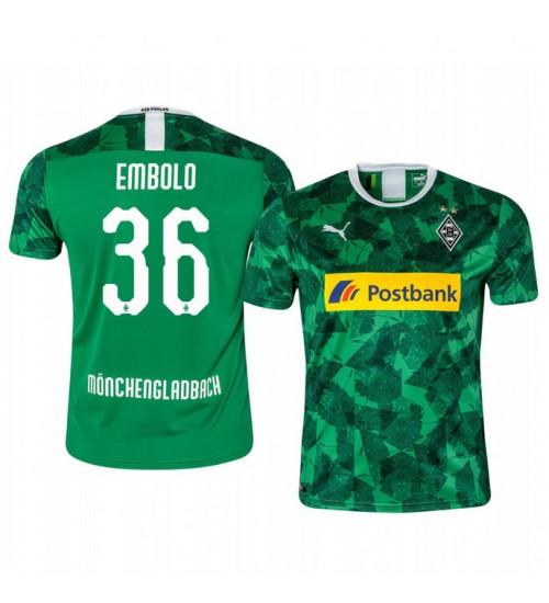 2019/20 Borussia Monchengladbach Breel Embolo Authentic Jersey Alternate Third