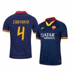 2019/20 AS Roma Bryan Cristante Authentic Jersey Alternate Third