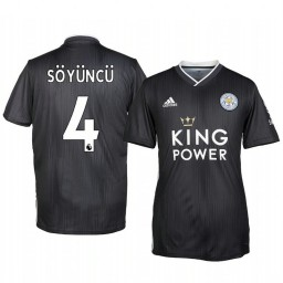 2019/20 Caglar Soyuncu Leicester City Third Short Sleeve Authentic Jersey