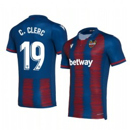 2019/20 Carlos Clerc Levante Home Replica Jersey