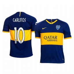 2019/20 Boca Juniors Carlos Tevez Home Authentic Jersey