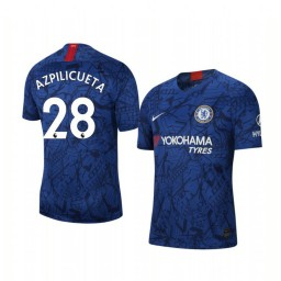 2019/20 Cesar Azpilicueta Chelsea Home Short Sleeve Authentic Jersey