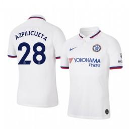 2019/20 Cesar Azpilicueta Chelsea Away Short Sleeve Authentic Jersey