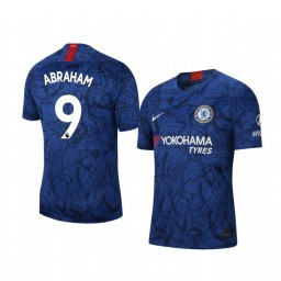 2019/20 Chelsea Tammy Abraham Blue Home Short Sleeve Authentic Jersey