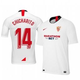 2019/20 Chicharito Sevilla Home Authentic Jersey