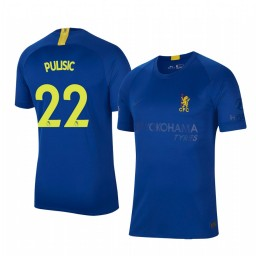 2019/20 Christian Pulisic Chelsea Blue Fourth Authentic Jersey
