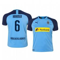 2019/20 Borussia Monchengladbach Christoph Kramer Blue Away Authentic Jersey