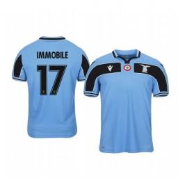 Youth 2019/20 Ciro Immobile Lazio Light Blue 120th Anniversary Celebration Authentic Jersey
