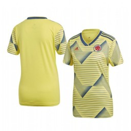 Women's Colombia Custom 2019 Home Authentic Short Sleeve Authentic Jersey