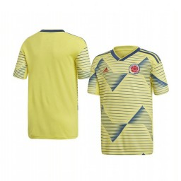 Youth Colombia Custom 2019 Home Authentic Short Sleeve Authentic Jersey