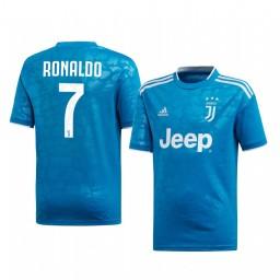 Youth 2019/20 Juventus Cristiano Ronaldo Authentic Jersey Third 2019-20