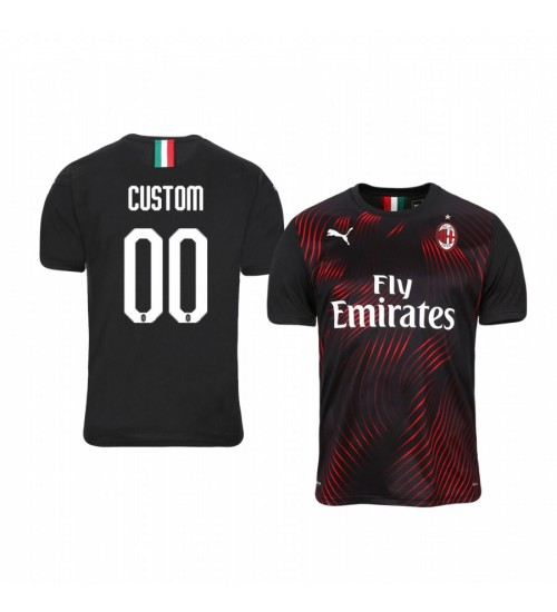 Youth 2019/20 Internazionale Milano Custom Replica Jersey Alternate Third