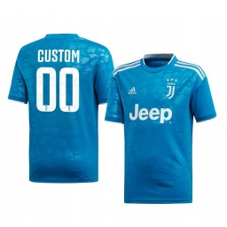 Youth 2019/20 Juventus Custom Authentic Jersey Third 2019-20