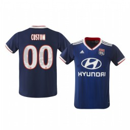 Youth 2019/20 Olympique de Marseille Custom Away Authentic Jersey