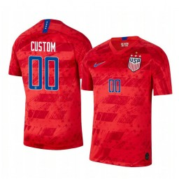 2019 World Cup Champions USA Custom Away 4-STAR Authentic Jersey