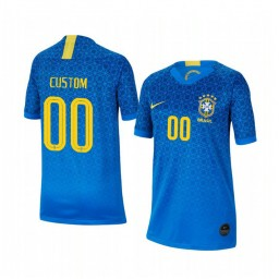 Youth 2019 World Cup Brazil Custom Away FIFA Replica Jersey