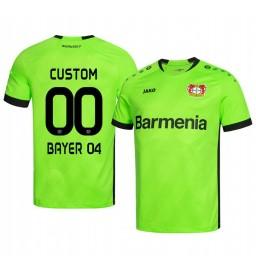 2019/20 Bayer Leverkusen Custom Green Goalkeeper Official Authentic Jersey