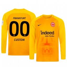 2019/20 Eintracht Frankfurt Custom Orange Goalkeeper Long Sleeve Authentic Jersey
