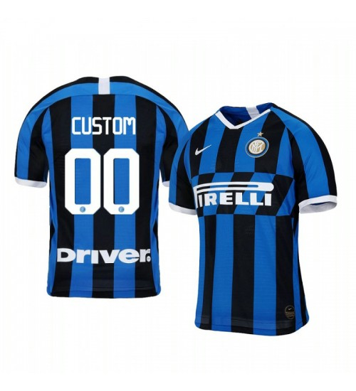 2019/20 Custom Internazionale Milano Home Authentic Jersey
