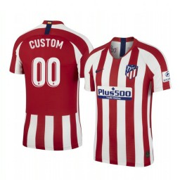 2019/20 Custom Atletico de Madrid Home Authentic Jersey