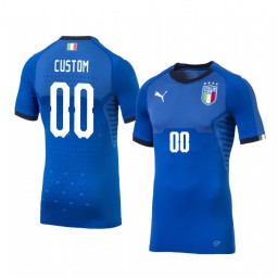 2019 World Cup Italy Custom Home FIFA Authentic Jersey