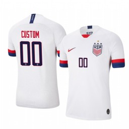2019 World Cup Champions USA Custom Home 4-STAR Authentic Jersey