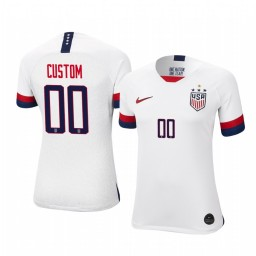 Women's 2019 World Cup Champions USA Custom Home 4-STAR Authentic Jersey