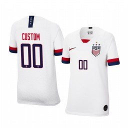 Youth 2019 World Cup Champions USA Custom Home 4-STAR Authentic Jersey