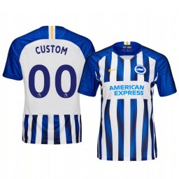 Women's 2019/20 Custom Leicester City Home Authentic Jersey