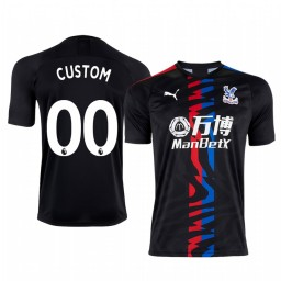 2019/20 Custom Manchester City Away Short Sleeve Replica Jersey