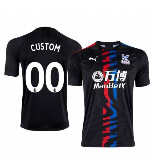 2019/20 Custom Liverpool Away Short Sleeve Authentic Jersey