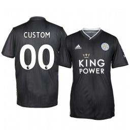 2019/20 Custom Leicester City Third Short Sleeve Authentic Jersey