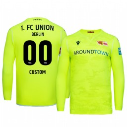 2019/20 Custom Union Berlin Goalkeeper Green Official Short Sleeve Authentic Jersey