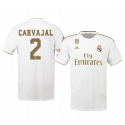 2019/20 Dani Carvajal Real Madrid Home Authentic Jersey